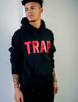 Trap Hoodie Black