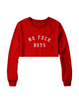 Crop Top NFB Red